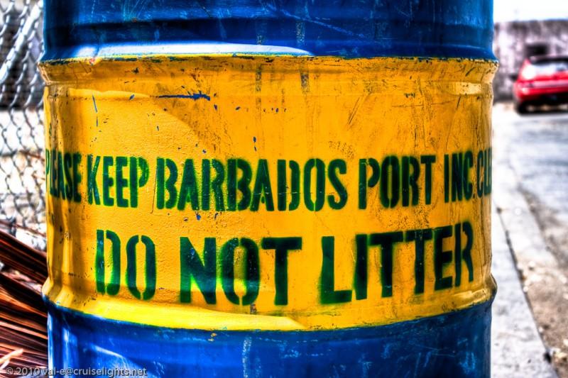 Do not litter!